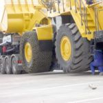 Transporte de maquinaria y logística