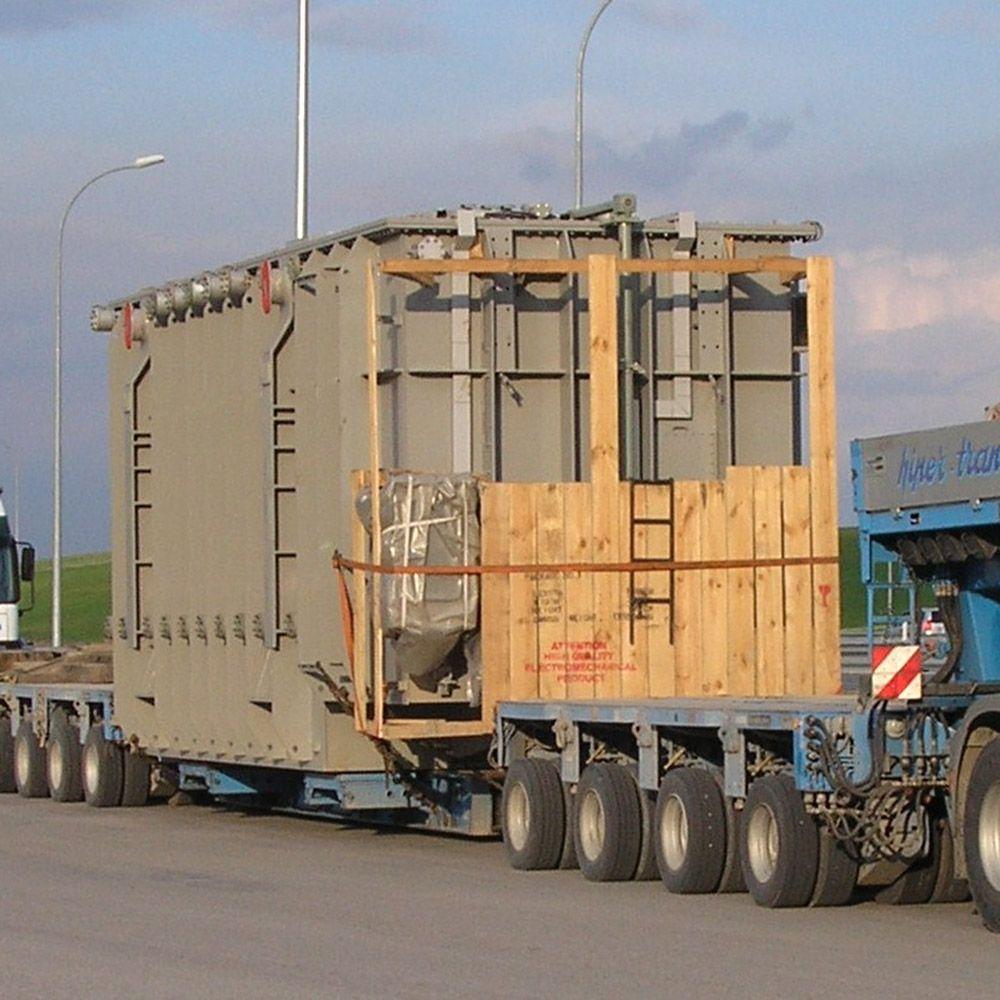 Transporte de trafos